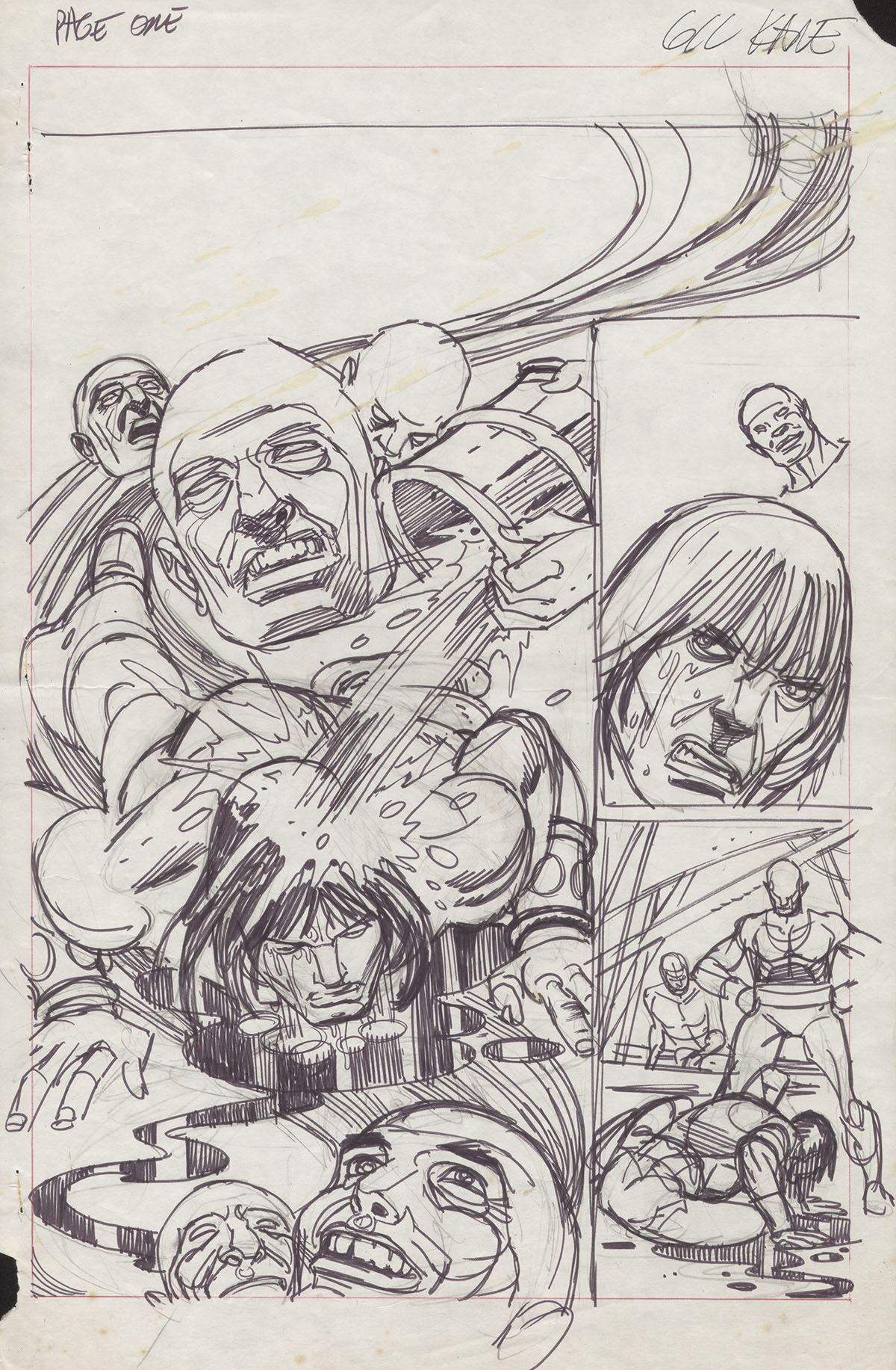 Savage Sword of Conan 8 pg1