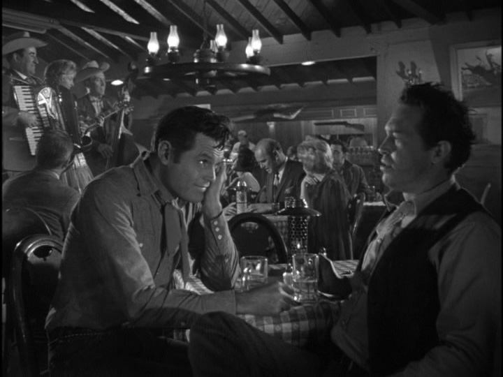 Jack Lord and Warren Oates in Stoney Burke